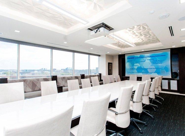 Project Profile: Aaron's boardroom