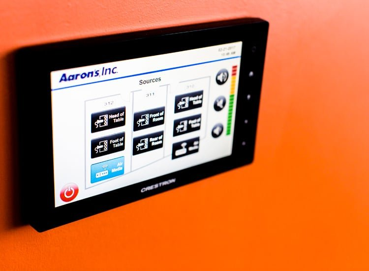 Project Profile: Aaron's touch panel