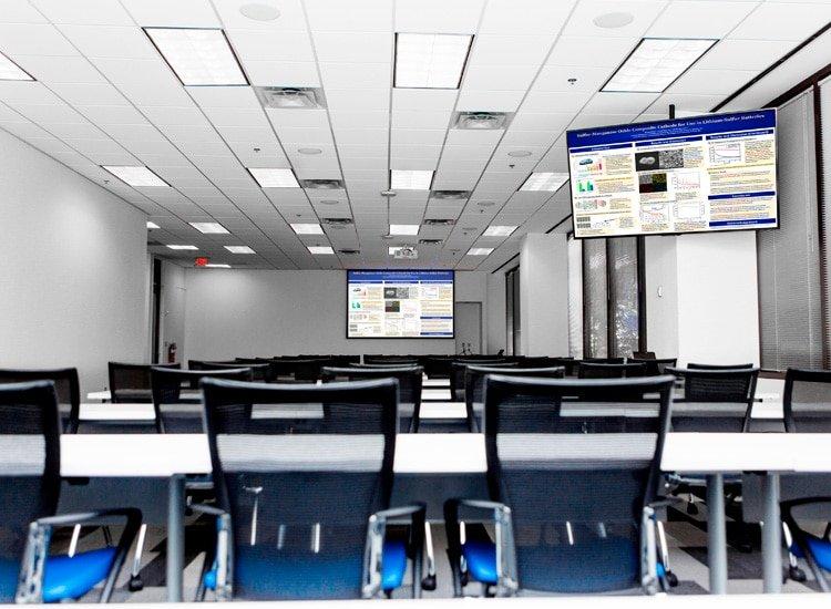 Project Profile: Fresenius Medical Care training room