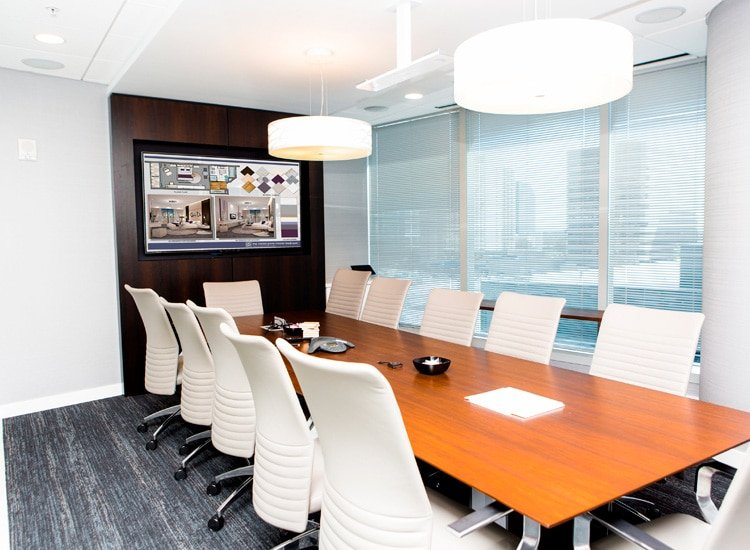 Project Profile: Highwoods Properties conference room 2