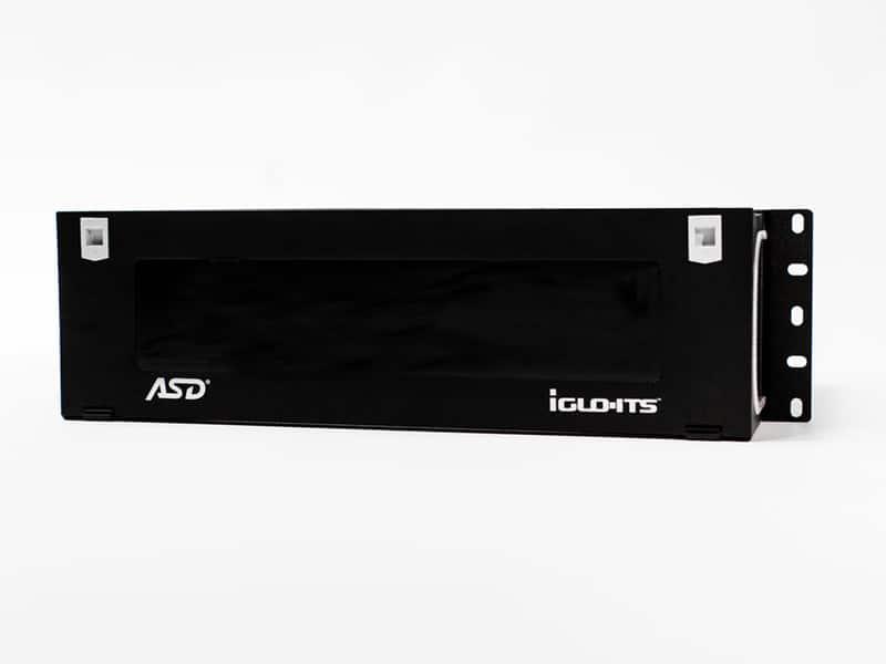 iGLO-ITS® 12 slot fiber optic panel (4RMU)