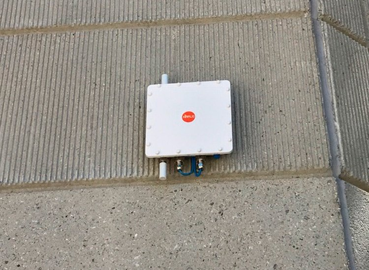 Project Profile: CBRE access point closeup