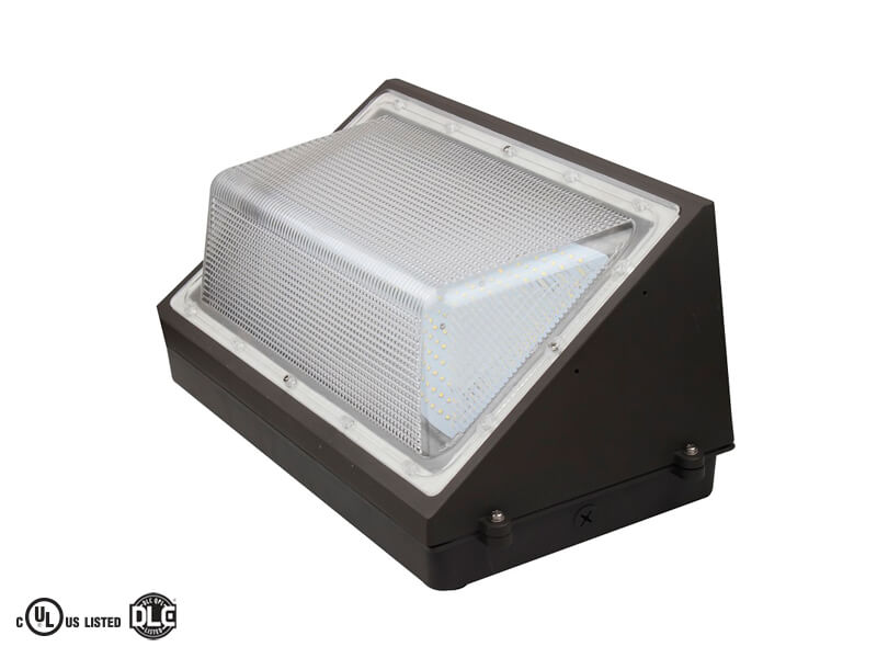 Outdoor Non-Cutoff and Semi-Cutoff Wall-Mounted Area Luminaires (PX9EWB3X)