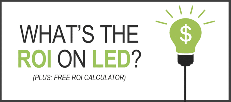 cost savings of led lighting