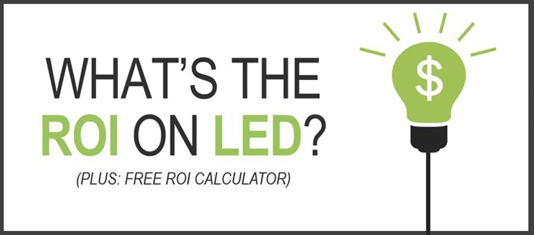 cost savings of led lighting
