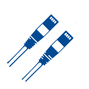 (2) patch cords icon