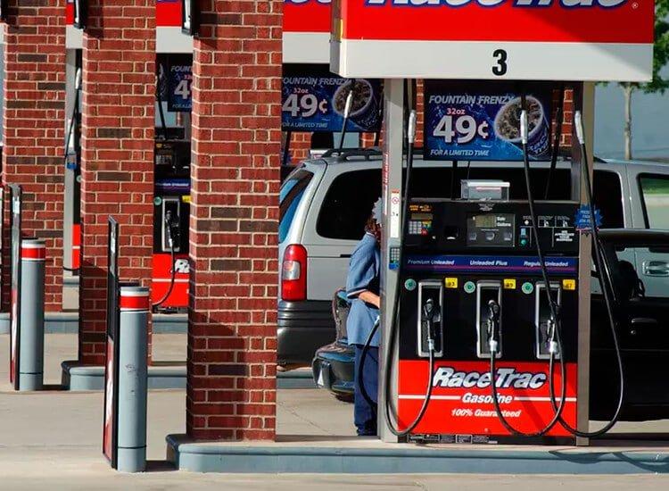 RaceTrac pumps