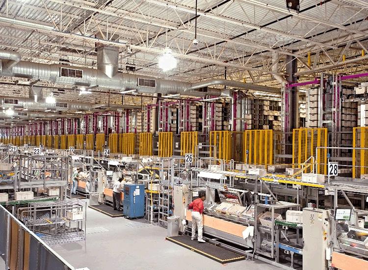 Project Profile:  Walgreens Distribution Center
