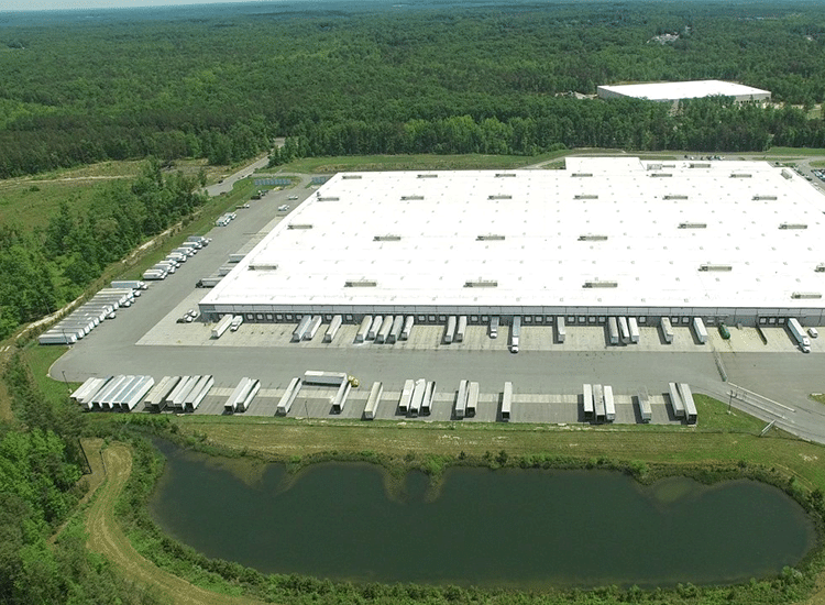 Project Profile: Walgreens Arial View