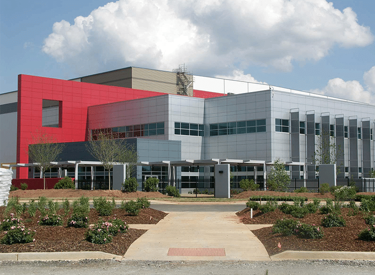Project Profile: Walgreens Distribution Center Street View