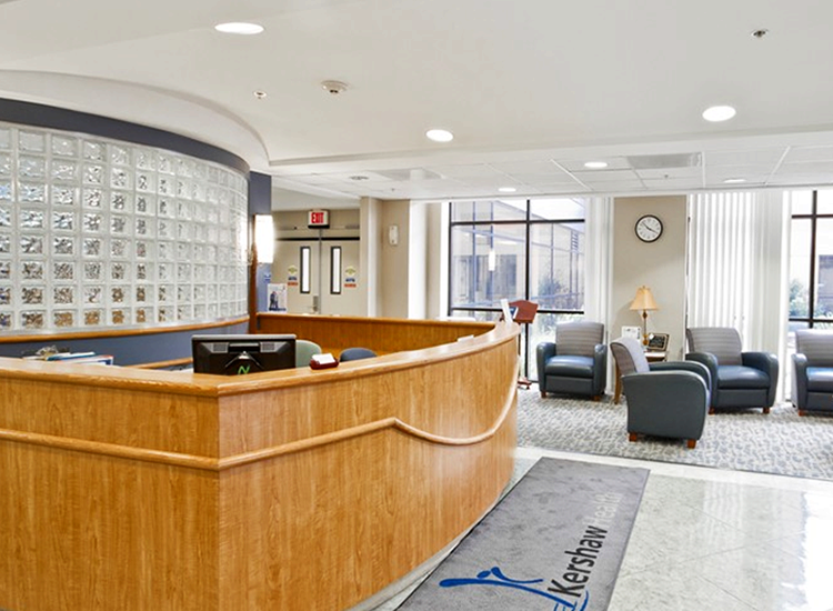 Project Profile:  RCCH Kershaw Health lobby
