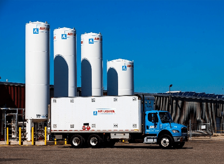 Project Profile: Air Liquide Truck