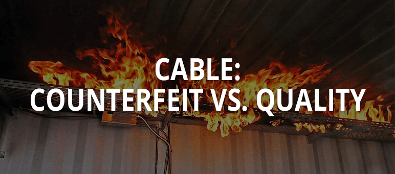 Cable Counterfeit vs Quality