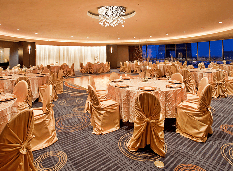 Project Profile: Crowne Plaza Ballroom