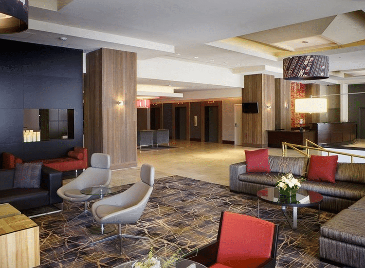 Project Profile: Crowne Plaza Lobby