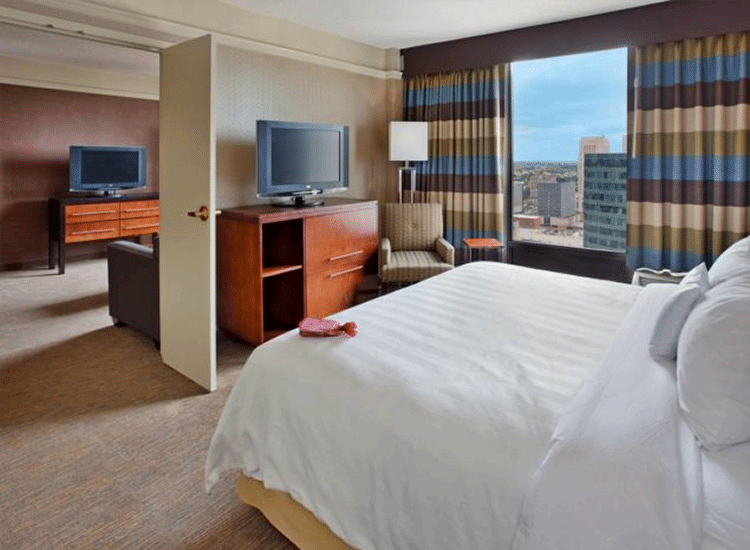 Project Profile: Crowne Plaza Room