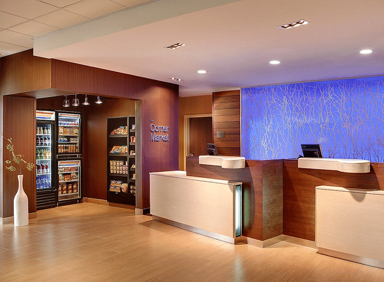 Project Profile: Dual Brand Marriott Front Desk