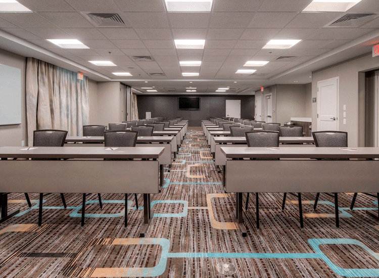Project Profile: Dual Brand Marriott Meeting Room