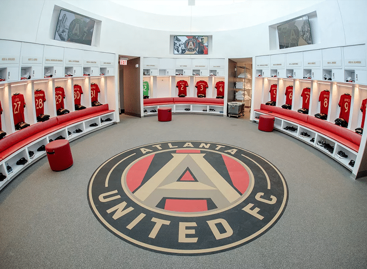 Project Profile: Atlanta United Locker Room