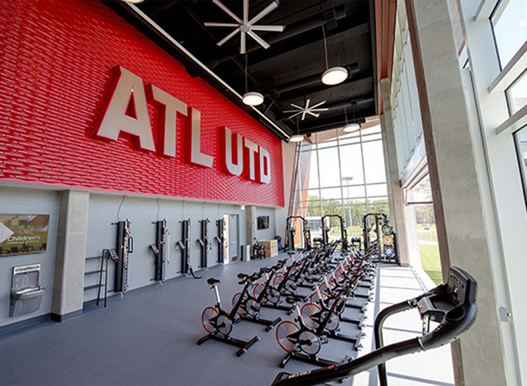 Project Profile: Atlanta United Training Facility Workout