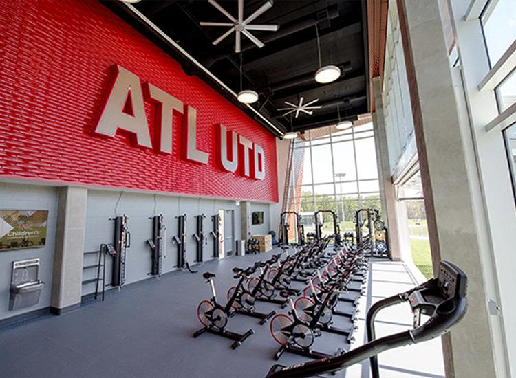 Atlanta United Training Room