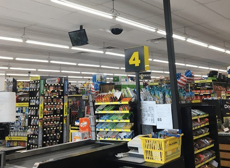 Project Profile:  integrated Security Solutions Dollar General Store