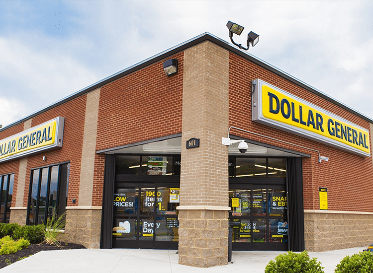 ISSKY Dollar General Front