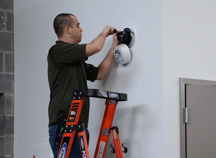Project Profile: integrated Security Solutions Security Camera