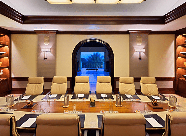 Project Profile: Santa Barbara Plantation boardroom