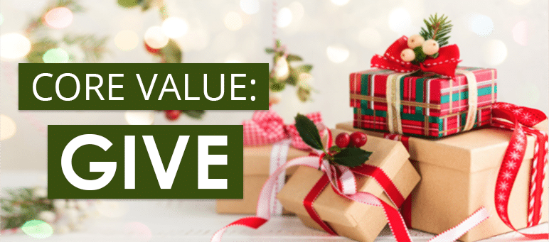 Core Value Give