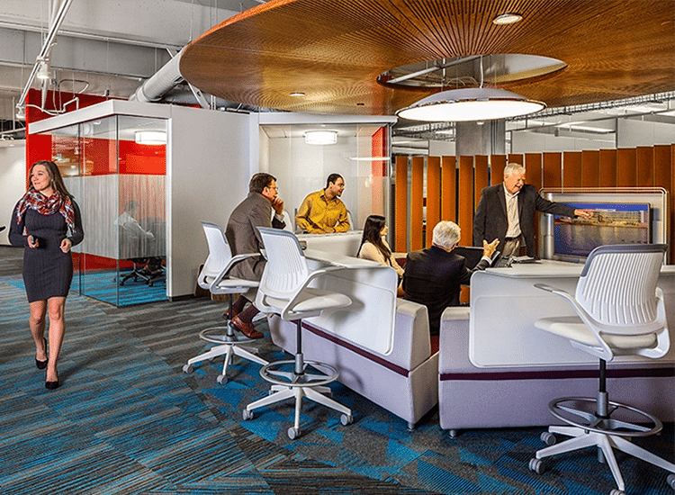 Project Profile: Hexagon Intergraph conference room