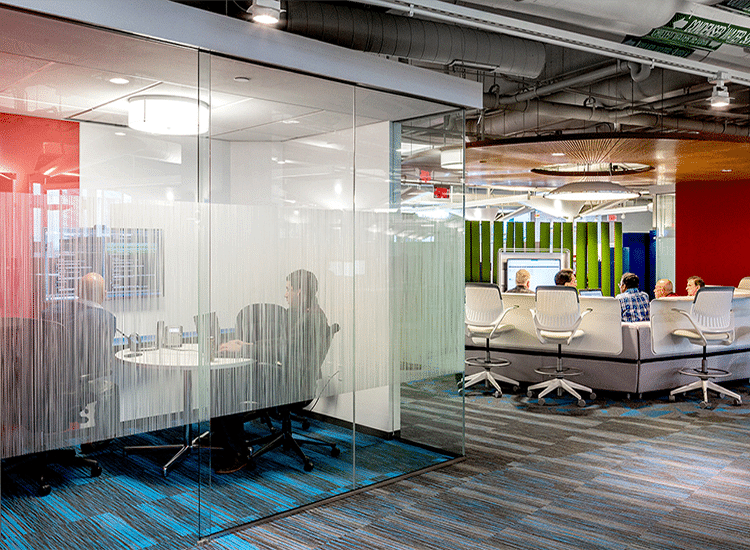 Project Profile: Hexagon conference room