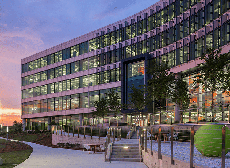 Project Profile: Hexagon Intergraph HQ Office Outside