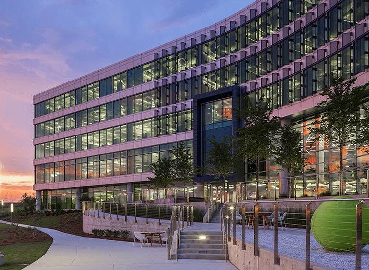 Intergraph Hexagon HQ Design/Build Outside