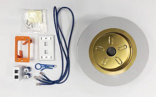 DIY Cable Drop Supplies