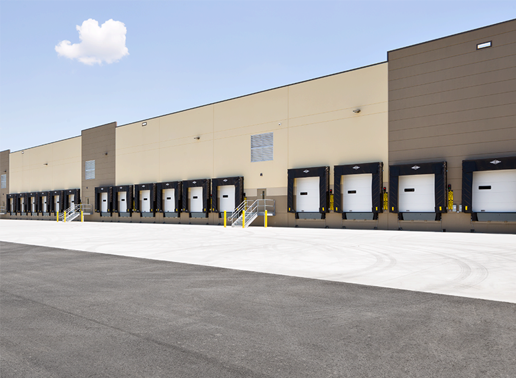 Project Profile: Performance Food Group Loading Docks