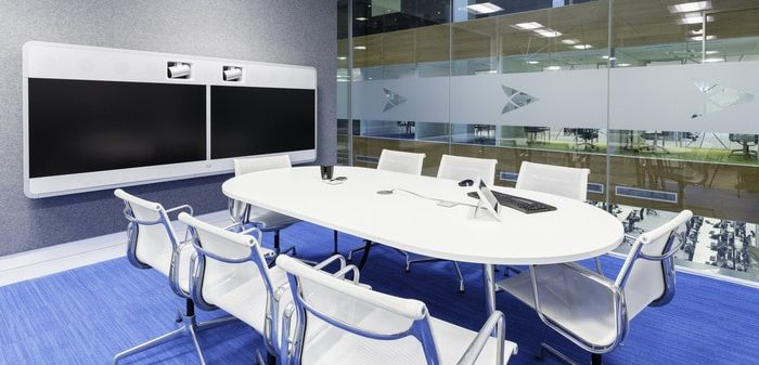 Wireless Presentation Conference Room