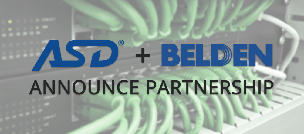 ASD Belden Announce Partnership
