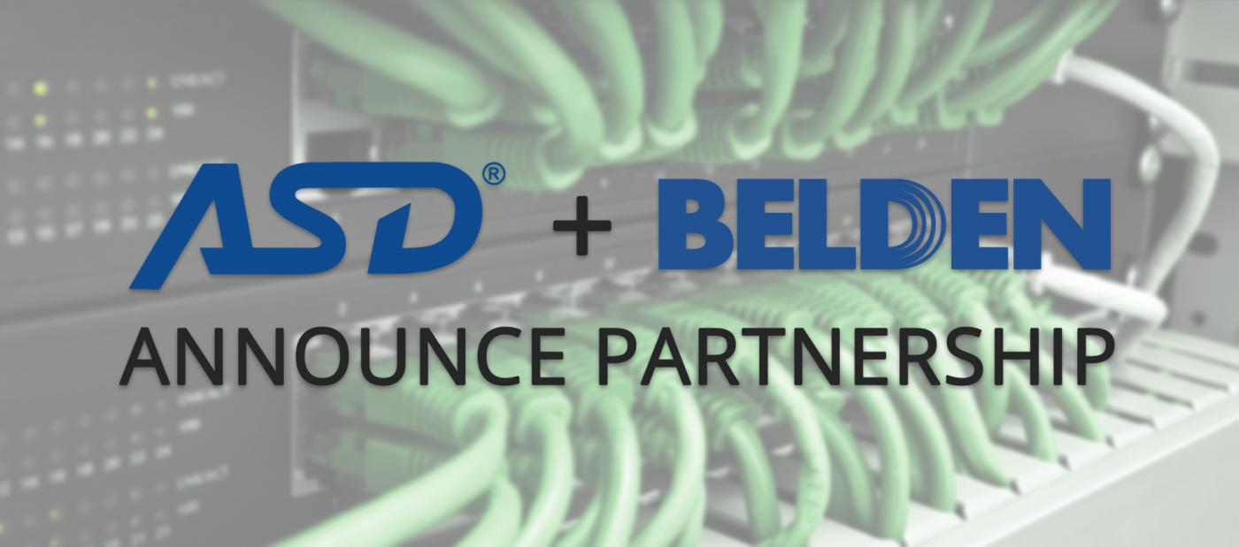 ASD Belden Announce Partnership