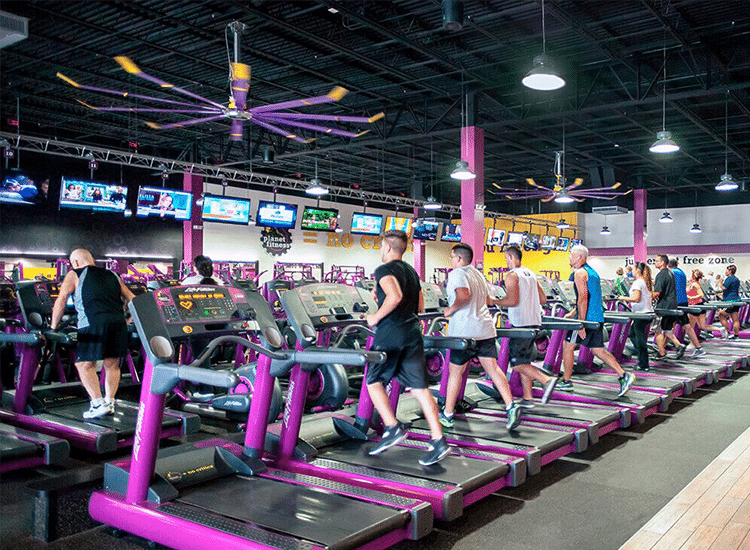 Project Profile: Planet Fitness tvs