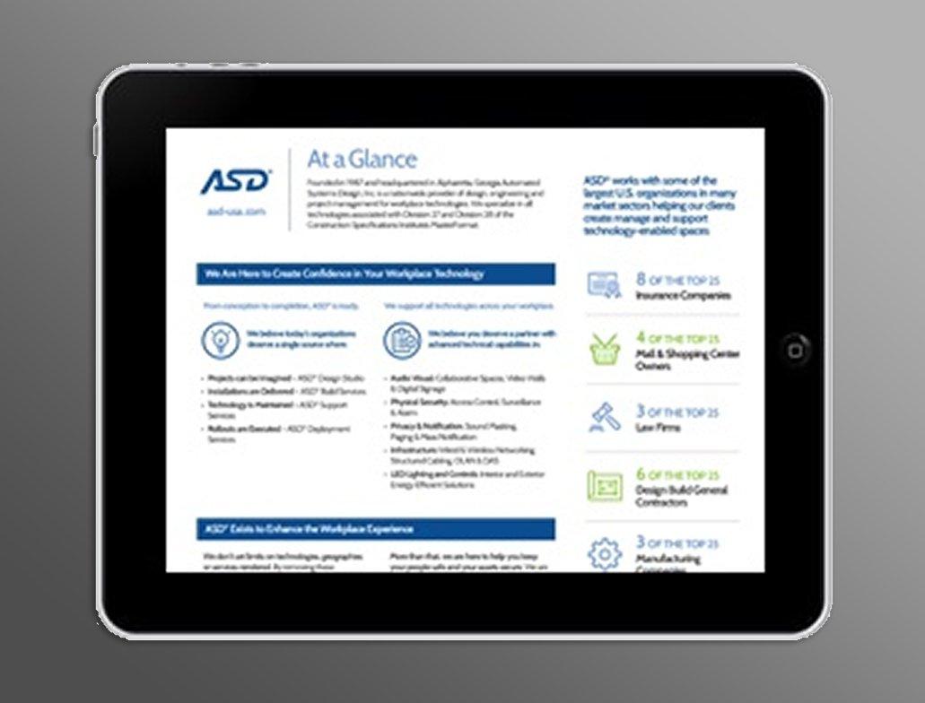 ASD at a glance icon