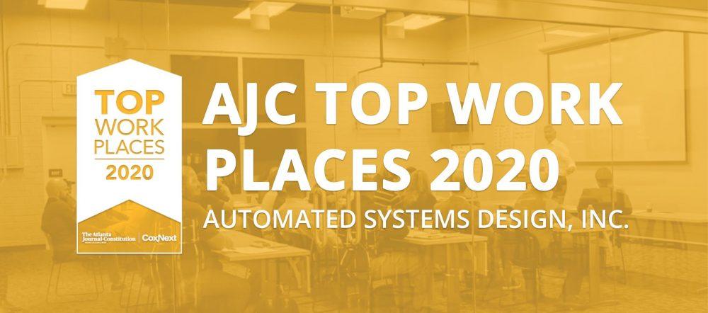 ASD AJC Top Workplace 2020