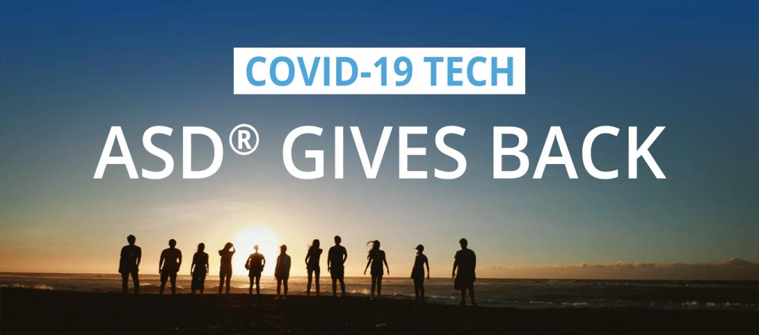 ASD Gives Back COVID-19 Tech