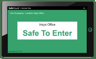 SafeCount - Dashboard - Customer - Green