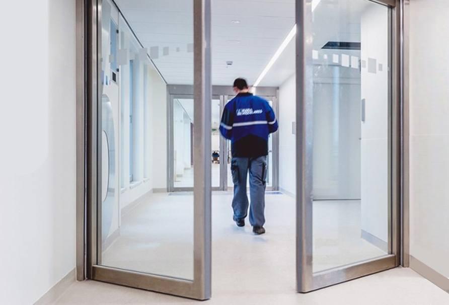 automatic door opener covid tech