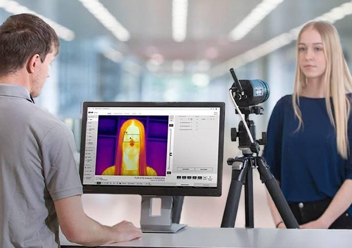 flir screening thermal camera